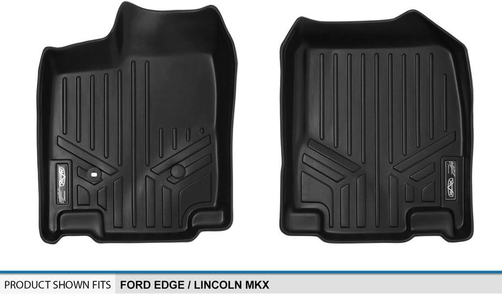 MAXLINER Floor Mats 1st Row Liner Set Black for 2007-2010 Ford Edge//Lincoln MKX