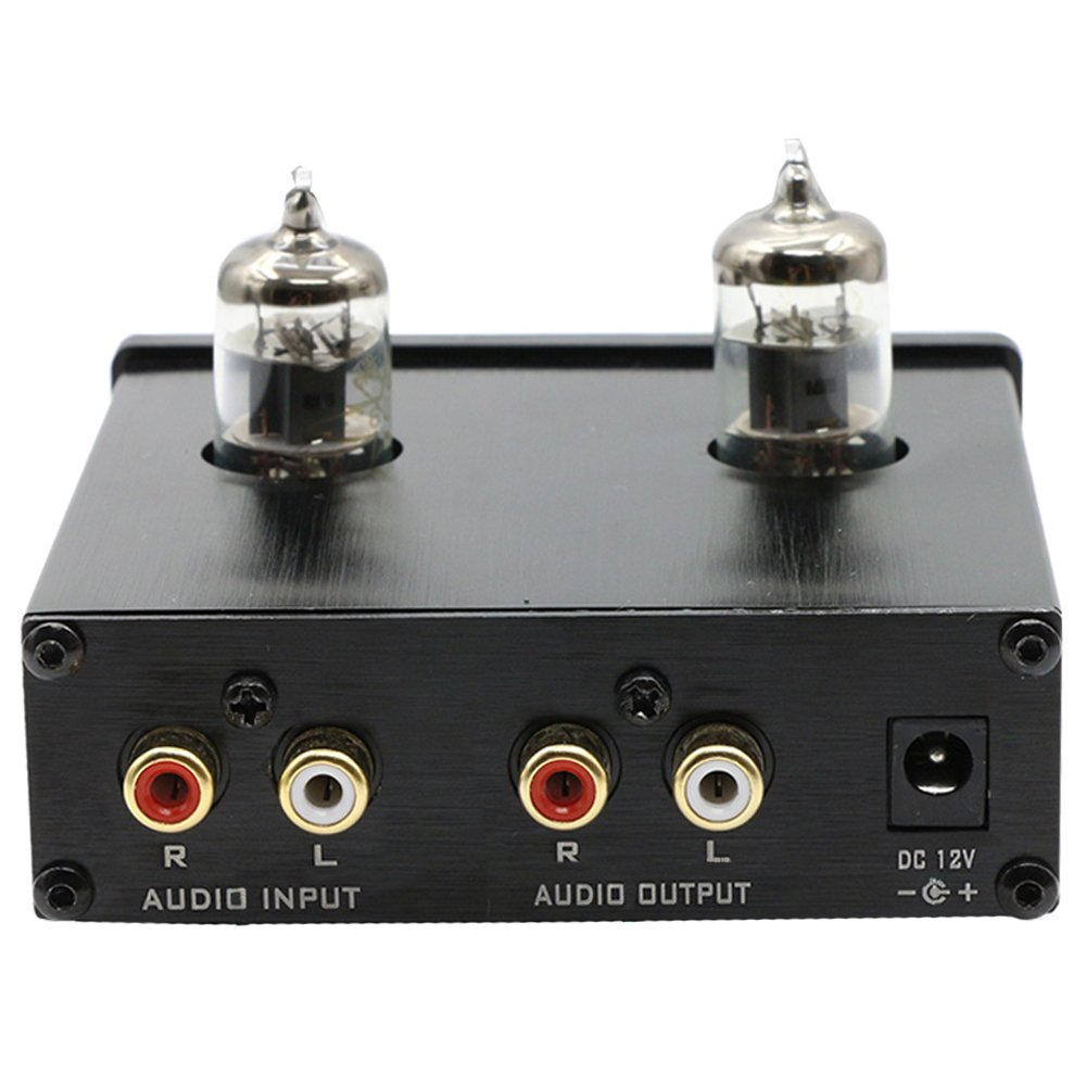 FX Audio TUBE-01 6J1 Tube Buffer HIFI Preamplifier (Black) by FX Audio (Image #3)