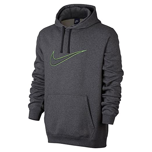 0dc2cd545c887 Nike M NSW HOODIE FLC GX SWSH #804656-071 at Amazon Men's Clothing store: