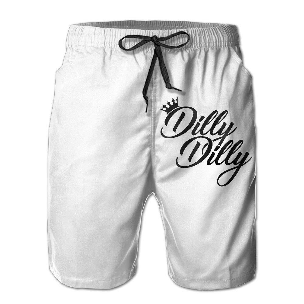 YUEJIQG Dilly Dilly Boardshorts Mens Swimtrunks Fashion Beach Shorts Casual Shorts Boardshort