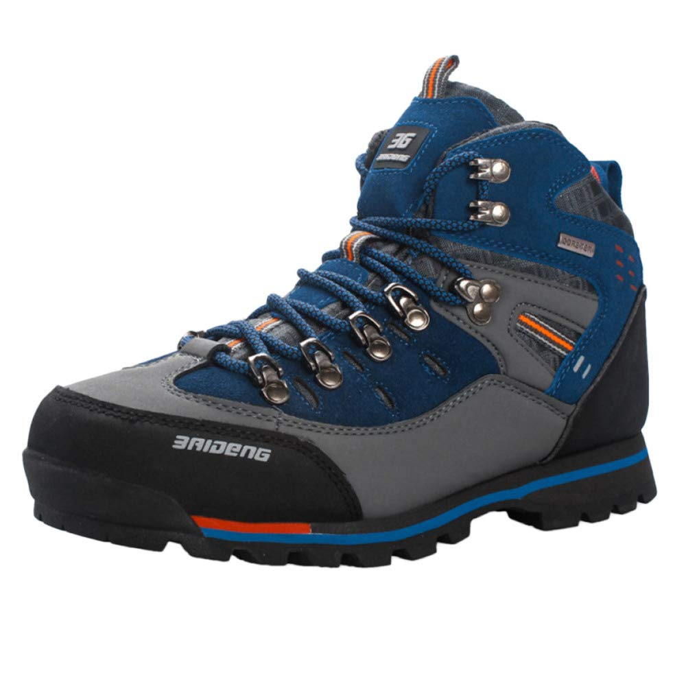 Herren Wanderschuhe Hoch Oben Trekking Schuhe Rutschfeste Draussen Wasserdichte Gehen Klettern Turnschuhe