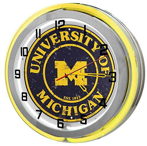 University Of Michigan Wolverines Yellow 18