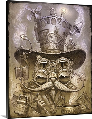 Jeff Haynie Premium Thick-Wrap Canvas Wall Art Print Steampunk