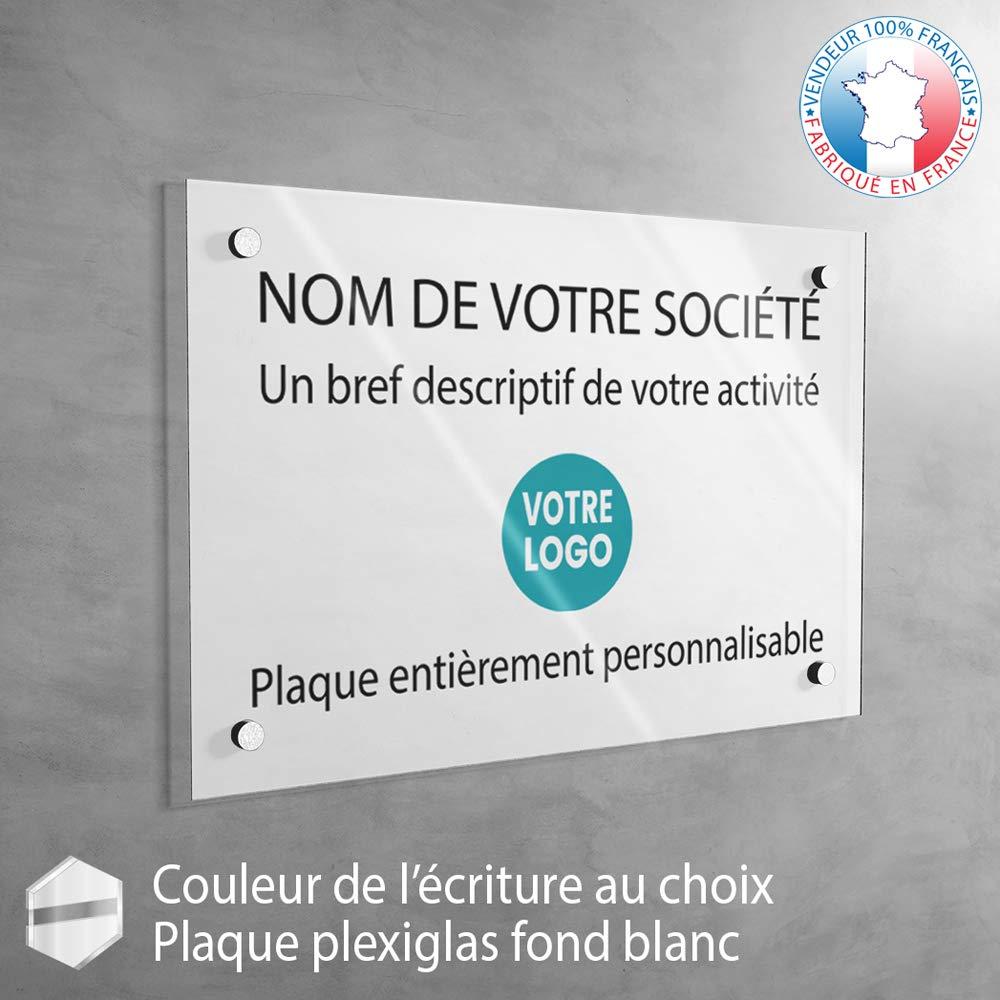12 couleurs disponibles fond Vieil Or Plaque professionnelle personnalis/ée en ligne Plexiglas Plaque cabinet m/édecin infirmier 30 x 20 cm