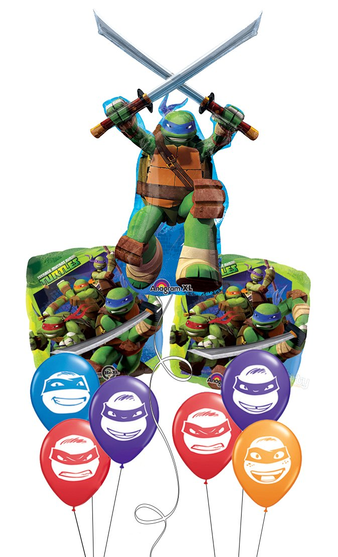 Amazon.com: Teenage Mutant Ninja Turtles Leonardo Balloon ...