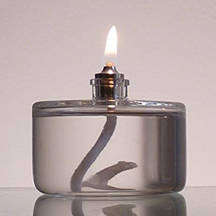 Firefly 3 Ounce Refillable Glass Liquid Candle