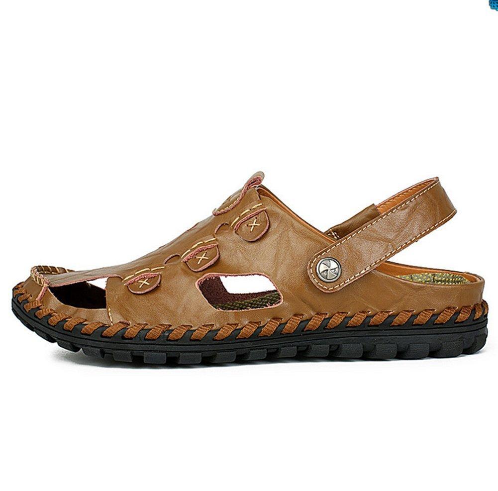 Sandalias De Verano para Hombre,Aire Hueco Sandalias De Suela Suaves Longitud del pie=24.3CM(9.6Inch) C