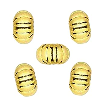 144 Gold Plated Brass 4mm StarDust Crimp Covers to Hide Crimps /& Knots