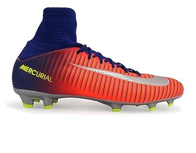 eecf1f5cf61 Amazon.com | Nike Kids Mercurial Superfly V FG DEEP Royal/Chrome ...