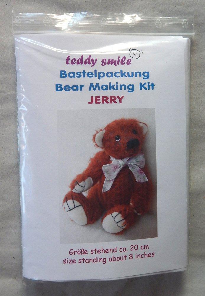 teddy smile - Bastelpackung Jerry für die Traditionelle Fertigung ...