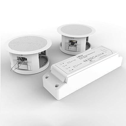 I Star Ceiling Bluetooth Speakers Complete Kit