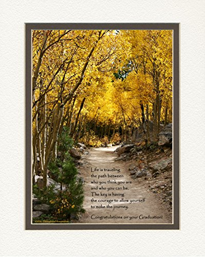 Graduation Gift, Aspen Path Photo with