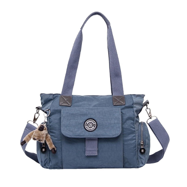 Cloudbag HB30051 Nylon Handbag for Women,Large & Fashion Solid Shoulder Bags