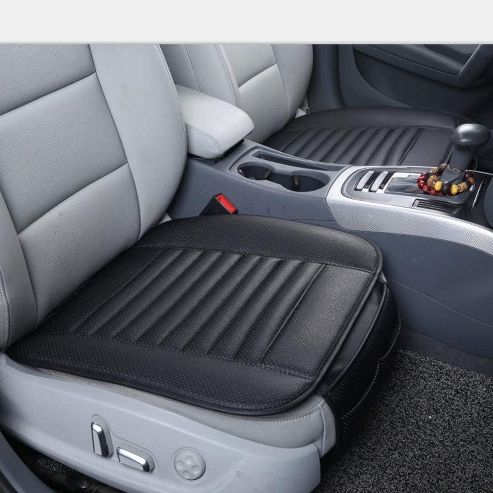 Beige 1 pz Cuscino per Seggiolino Auto Universale Imbottitura Supporto Sedile in Pelle PU KKmoon Coprisedile per Auto Accessori per Auto
