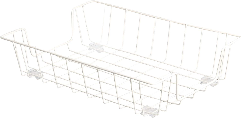 AmazonBasics Letter Size Desk Tray Organizer, White