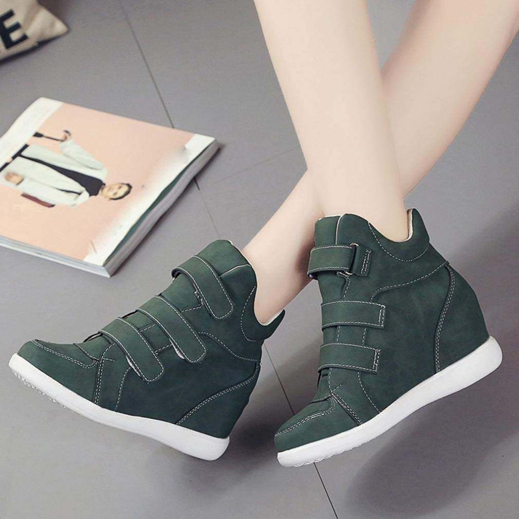 Gyoume Winter Ankle Boots Women Lace up Boots Shoes Girls School Footwear Platform Boots Shoes