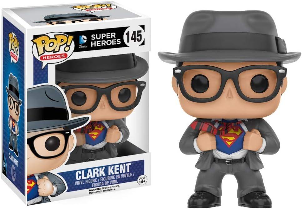 Funko 599386031 - Figura DC - Superman Clark Kent Traje