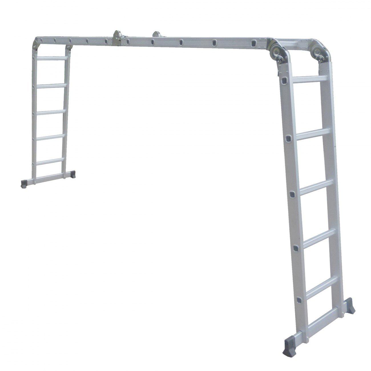 maxcraft escalera multifuncin en de aluminio