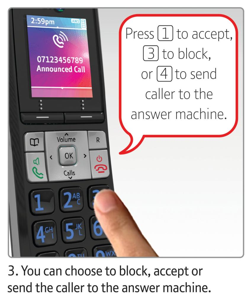 da599932696 BT8500 Enhanced Call Blocker Cordless Home Phone - Twin  Amazon.co ...