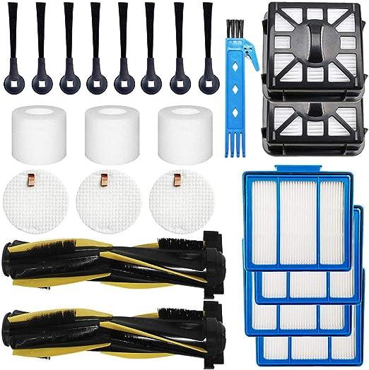 Robotic Vacuum Replacement Parts Kit for Shark IQ R101AE RV1001AE IQ R101 RV1001
