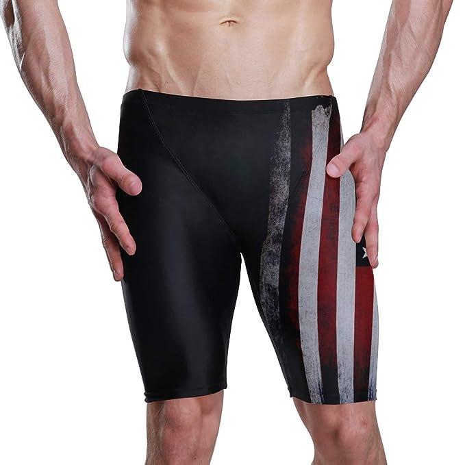 Amazon.com: Bañador para hombre, diseño de bandera de ...