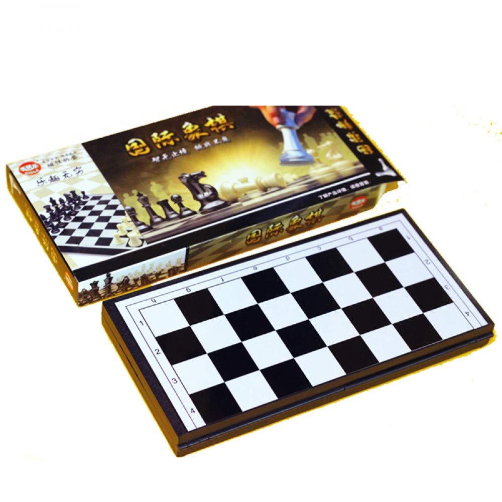 JSGJZY Game Foldable Chess Games 285 * 145 * 30mm heckerboard PlasticInternational Chess