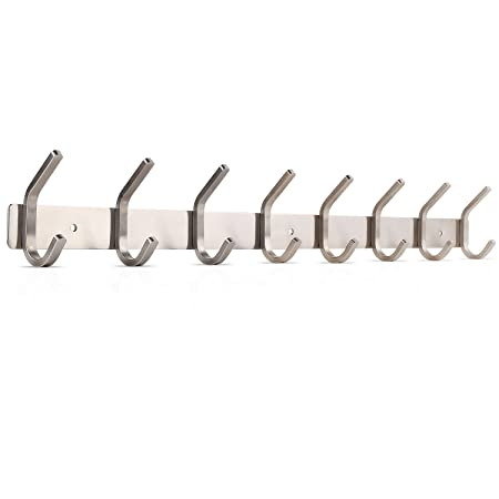 HOMFA Coat Hook Rack Wall Mount Stainless Steel Hanger Heavy Duty Awesome Amazon Coat Hook Rack