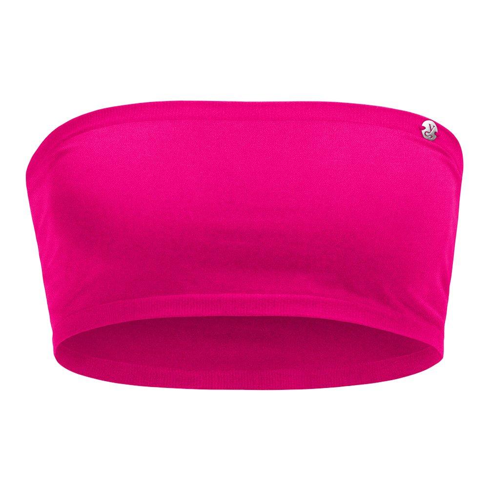 Kidneykaren Damen Bandeau Multitube Top Mini Tube Fitness Freizeit Pink Paradise