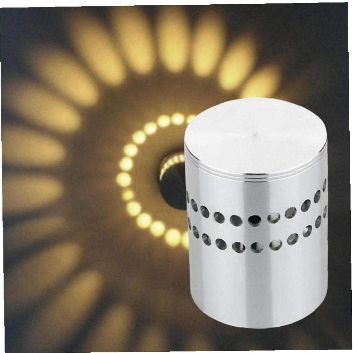 Applique Murale /à LED en Spirale Trou Applique Surface dinstallation LED Luminaire Lumi/ères D/écoration Porche Bureau Bars /éclairage