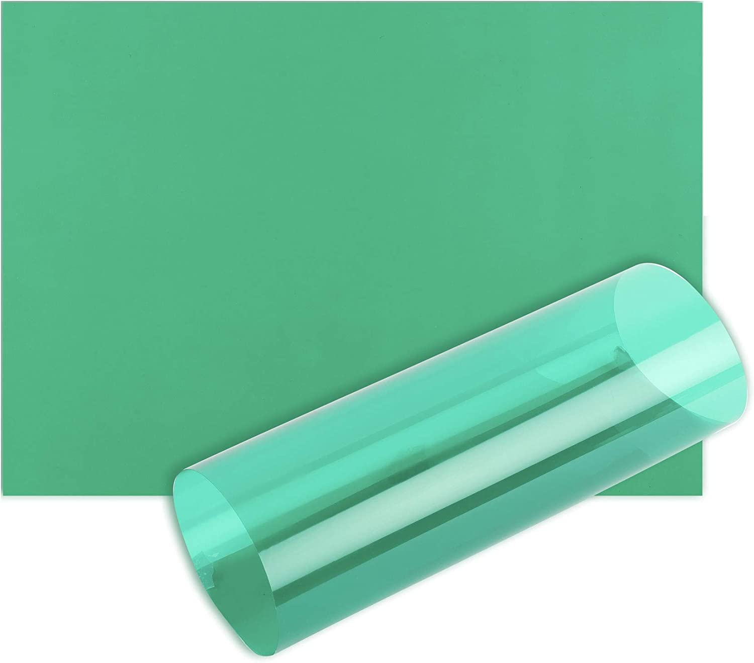 1 Sheet - A4-21cm x 29.7cm Green Acetate Sheets OHP Film A4 Acetate Sheet Tinted Page Overlays Reading Aid Colour Clear Plastic Craft Thick
