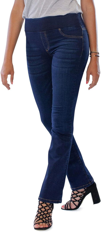 Mamajeans Amalfi Bootcut Jeans Woman Bequemer Gürtel Mit Gummizug Ohne Knopf Hohe Taille Erweiterte Ideale Kurvige Tatze Made In Italy 34 Denim Amazon De Bekleidung