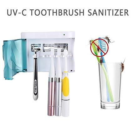 Amazon.com: qiuko Tamaño de la familia UV Sanitizer, cepillo ...