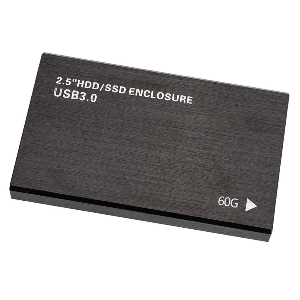 P Prettyia Disco Duro Sólido Interno SSD de 60GB (SATA, 2.5 ...