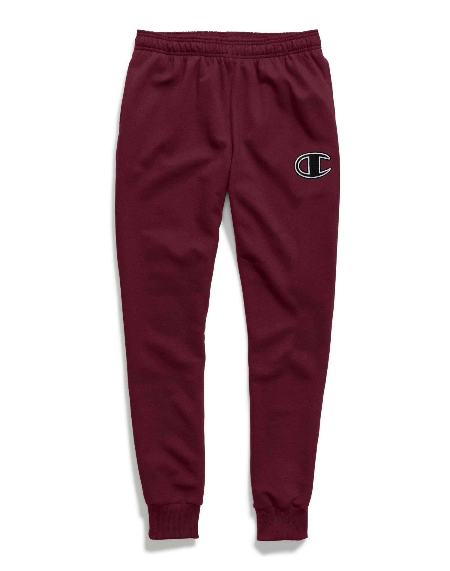 Champion Powerblend Applique Jogger Maroon SM by Champion