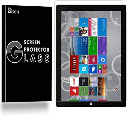 2017 Microsoft Surface Pro 4 2 Pack Premium Tempered Glass Screen Protector