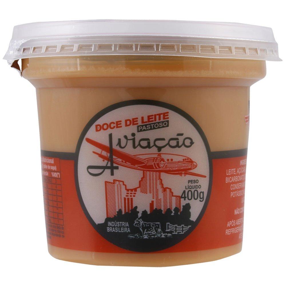 Caramel Dessert Topping - Doce de Leite Pastoso Aviacao Net Wt 400g