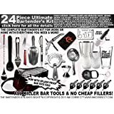 The Master 24 Piece Bartender Bar Kit!