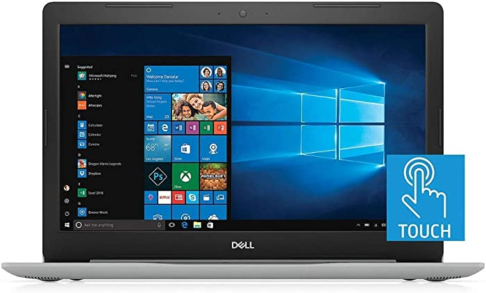 "2019 Newest Dell Inspiron 15 5000 15.6"" Full HD FHD Touchscreen (1920x1080) Business Laptop (Intel Quad-Core i7-8550U, 16GB DDR4 RAM, 512GB SSD) HDMI, Backlit Keyboard, UHD 620, Windows 10"