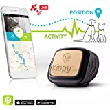 Pet GPS Tracker for Dogs and Cats by Kippy | GPS Monitoring & Activity Monitor for Dogs, Cats and more | Simply attach to your Pet's Collar or Harness | Works with iPhone, Android, Smartphones, Tablets | Data Service Subscription Required and Sold Separately