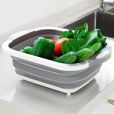 Folding Strainer Collapsible Colander Fruit Vegetable Washing Drain Basket