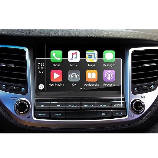 LFOTPP Hyundai Tucson 8 Pulgadas Navegación Protector de Pantalla - 9H Cristal Vidrio Templado GPS Navi película protegida Glass: Amazon.es: Electrónica