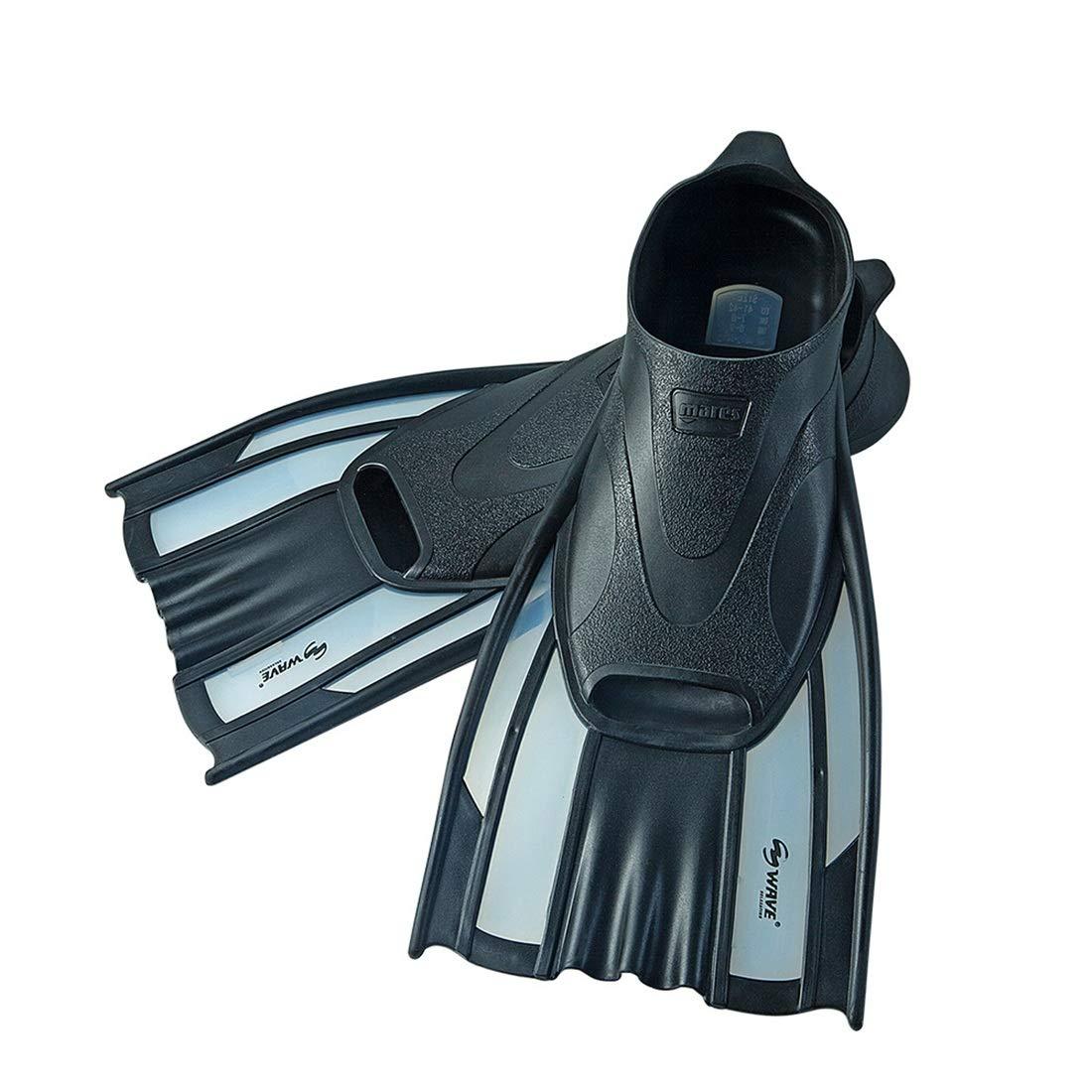 Peii Rori 水泳用の大人の短いシュノーケリングフィンダイビングフィン (Color : ブラック, サイズ : L) B07QHSJQ8P ブラック Large
