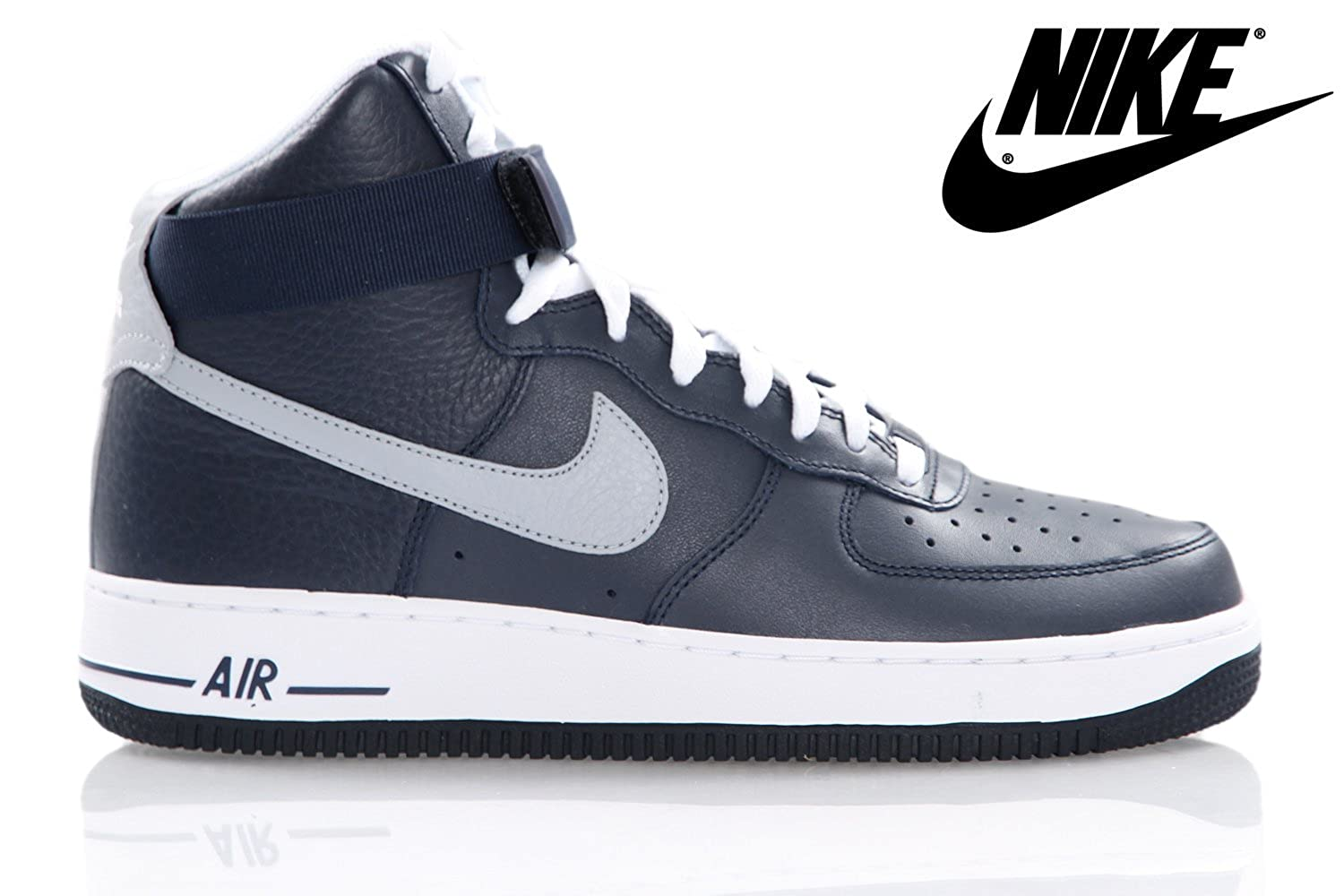 nouvelle arrivee 583ba 4a2ed Nike AIR FORCE 1 HIGH 07 Baskets Homme 315121-404-42-8.5 ...