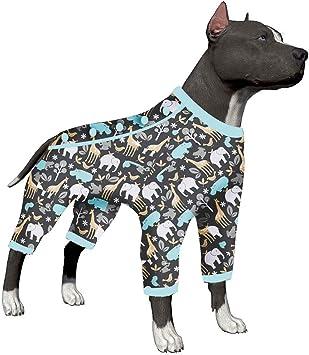 Amazon.com: LovinPet Pajamas, Pitbull Pajamas para perros ...
