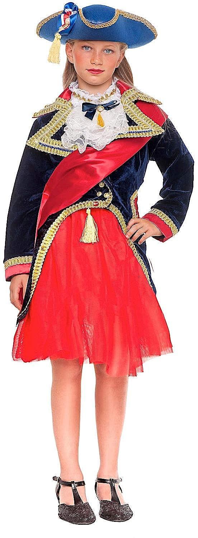 Carnevale Venizano CAV53897-5 - Kinderkostüm RIVOLUZIONARIA Francese Baby - Alter: 1-6 Jahre - Größe: 5