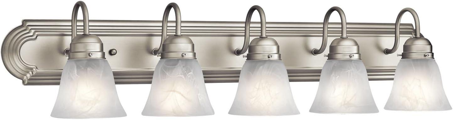 brushed nickel bathroom vanity lights