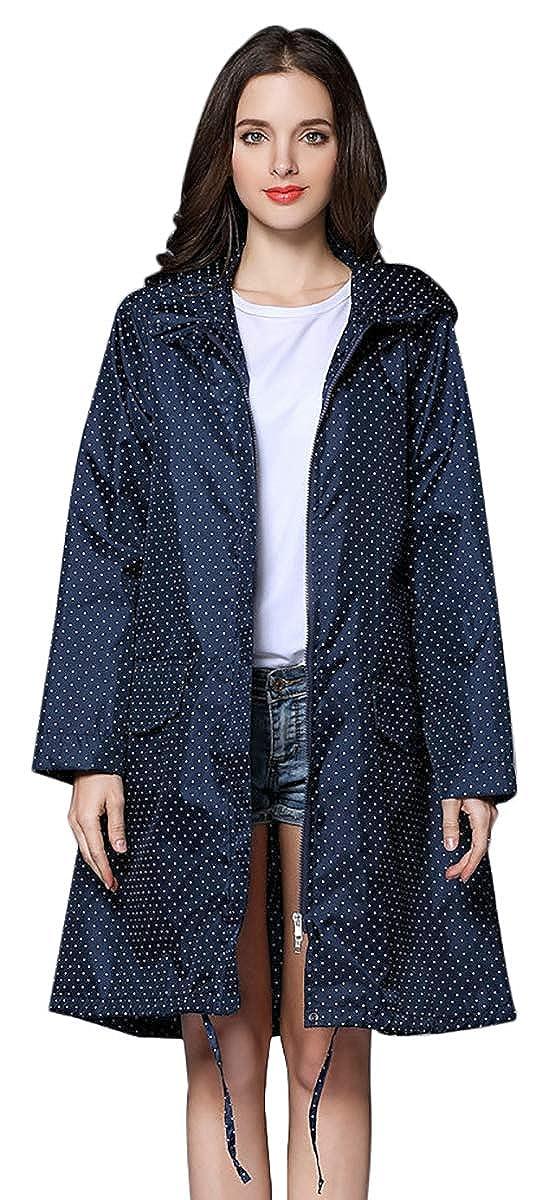 55b8d6c2c77 Amazon.com  THOMAS HOME Women Rain Jacket