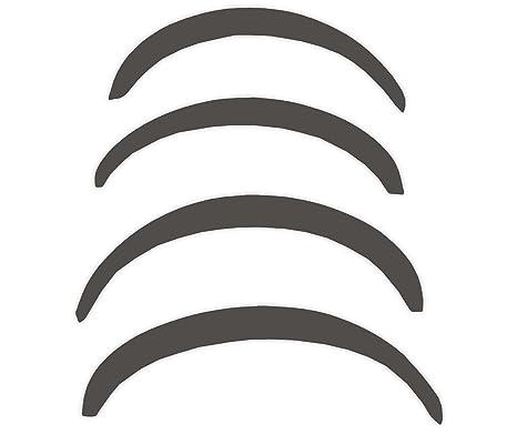 R.S.N. 501 para pintar, rueda arcos, Fender tapacubos extensiones, para óxido