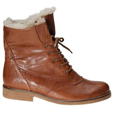 72e97f570 Gabor Puma modern lace up ankle boots in copper COPPER 8.5: Amazon ...