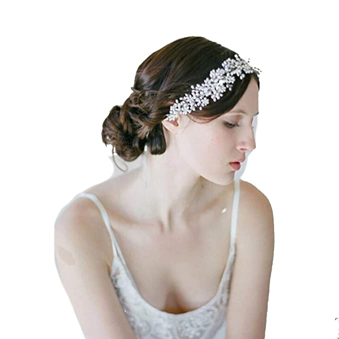 Blumenmädchen Kinder Hochzeit Braut Haarschmuck Haarreif Krone Diademe Tiara